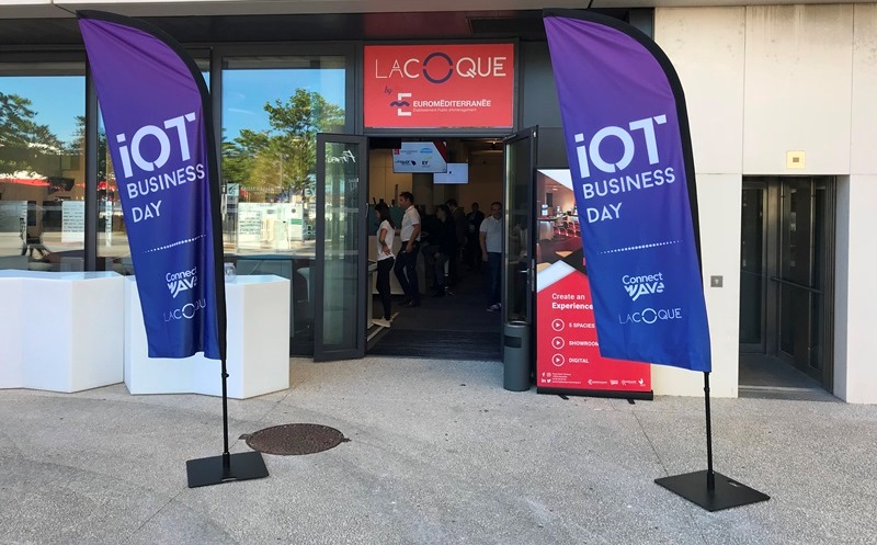 IoT business day - 6 juin 2019 - avec ASALOG à LaCoque à Marseille